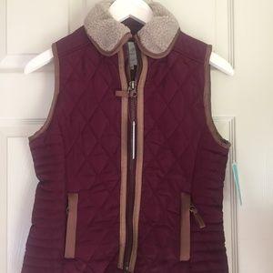 Copper Key  Deep Red maroon Vest size 14/16